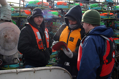Image of commercial fishermen