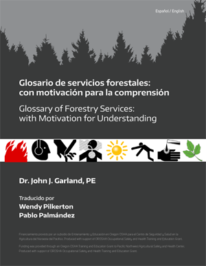 Image of cover Spanish glossary of forestry services