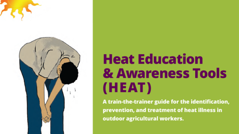Heat training book cover
