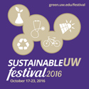 Sustainable UW Festival Flyer thumbnail