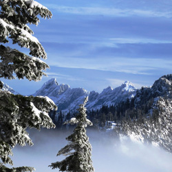 Gerry Croteau - Clean Air - Snowy Mountaintop in the Pacific Northwest