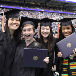 UW Student Life - Higher Education - Students at Graduation