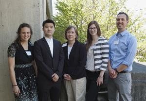 Presenters at the 2015 Graduate Student Research Day